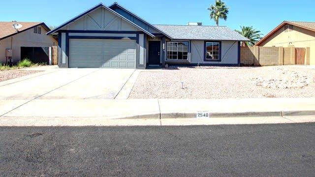 Photo 1 of 21 - 2540 E Carmel Ave, Mesa, AZ 85204