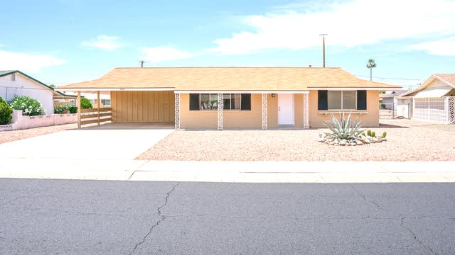 Photo 1 of 14 - 10816 N Madison Dr, Sun City, AZ 85351