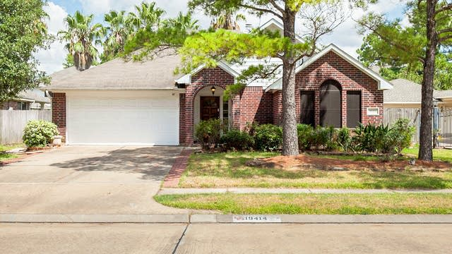 Photo 1 of 24 - 19414 Bear Meadow Ln, Katy, TX 77449