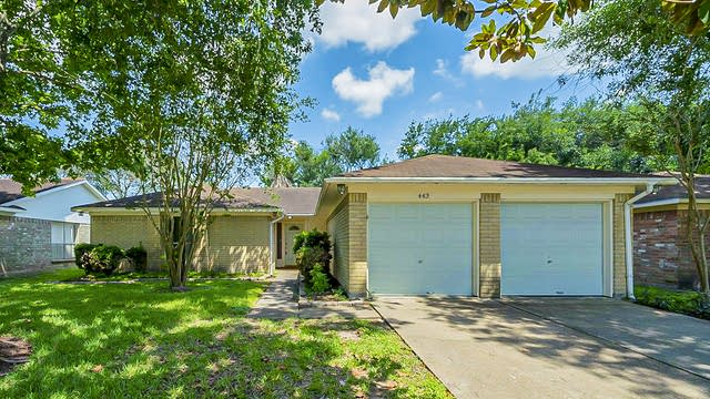 Photo 1 of 33 - 443 Buoy Rd, Webster, TX 77598